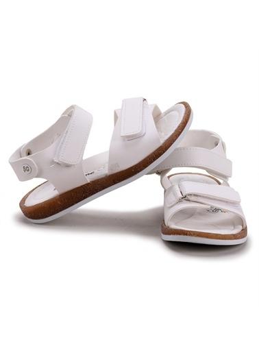 Kiko Kids  Şb 27432893-00 Orto Pedik Erkek Çocuk Sandalet Terlik Beyaz